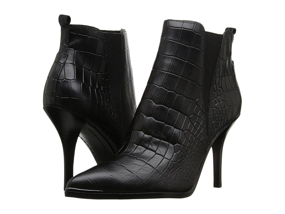 Marc Fisher LTD - Vilma (Black Croc) Women
