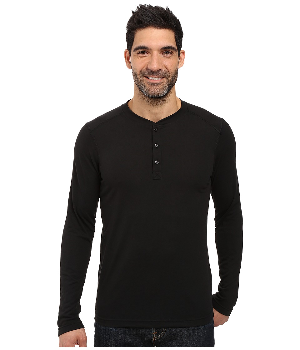 The North Face Long Sleeve Crag Henley (TNF Black) Men