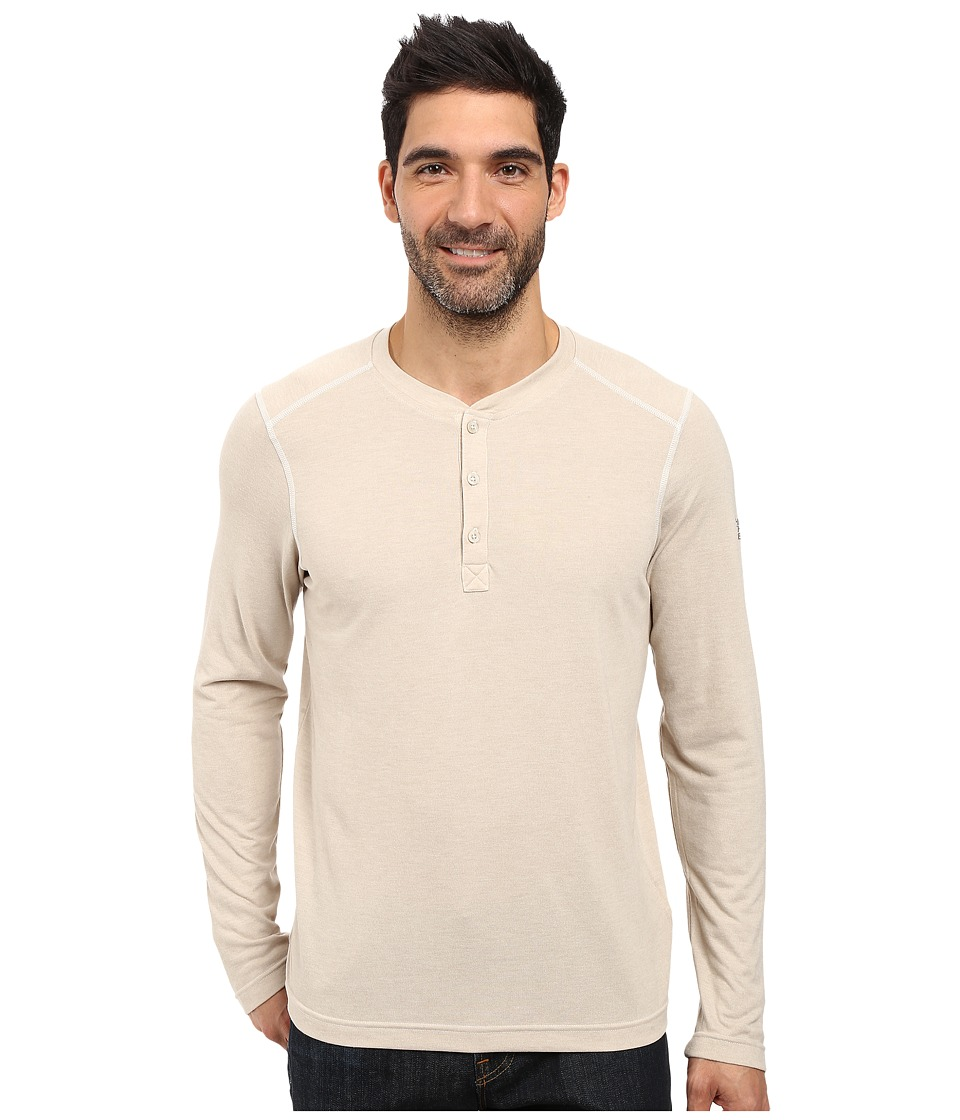 The North Face Long Sleeve Crag Henley (TNF Oatmeal Heather) Men