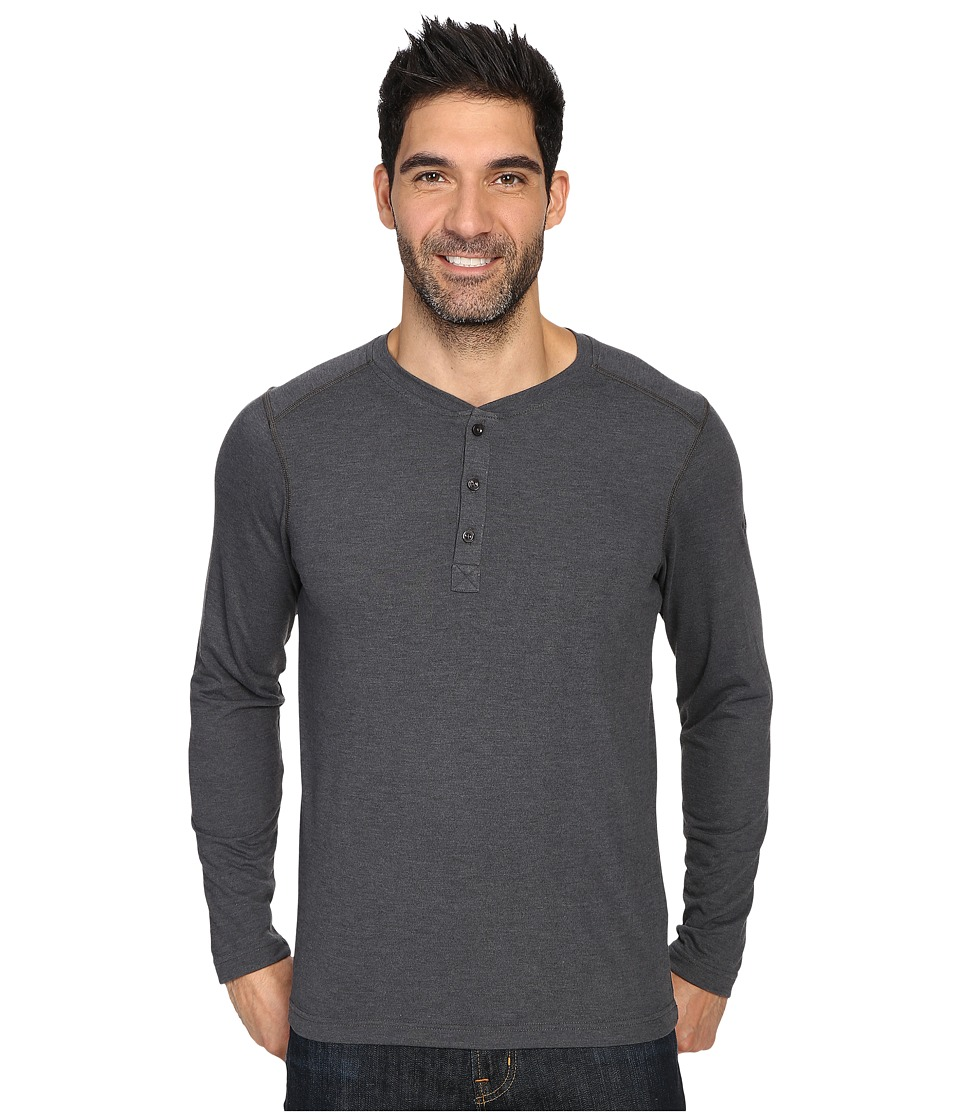 The North Face Long Sleeve Crag Henley (TNF Dark Grey Heather) Men