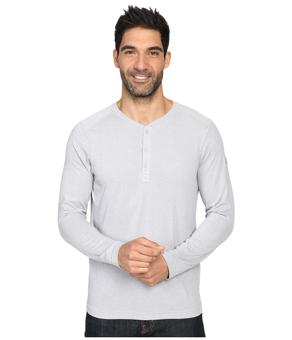 The North Face Long Sleeve Crag Henley (TNF Light Grey Heather) Men