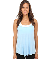 Pink Lotus - Day Dreamin Motivated Strappy Tank Top with Keyhole Back Detail