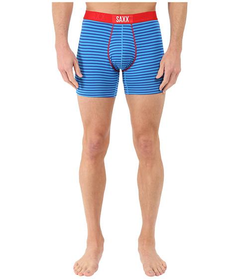SAXX UNDERWEAR Vibe Boxer Modern Fit - Mariner Stripe