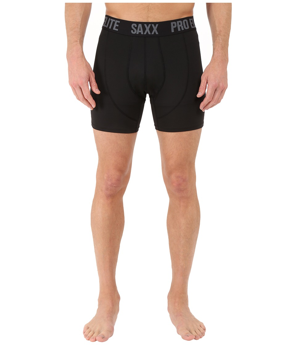 SAXX UNDERWEAR Pro Elite 2.0 Boxer Modern Fit Black Mens Underwear