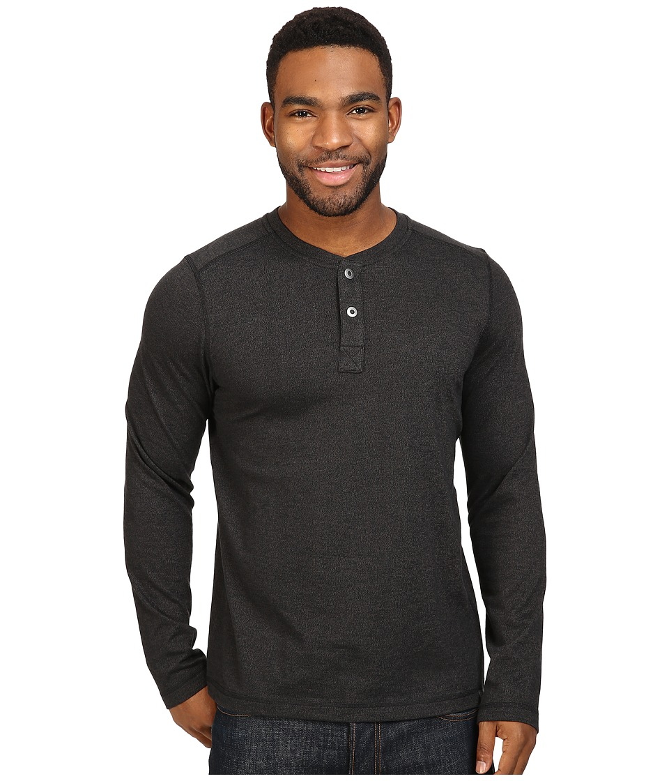 The North Face Long Sleeve Copperwood Henley (TNF Black) Men