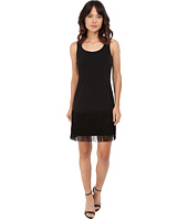 Calvin Klein - Jersey Dress with Fringe Bottom CD6A1V2C