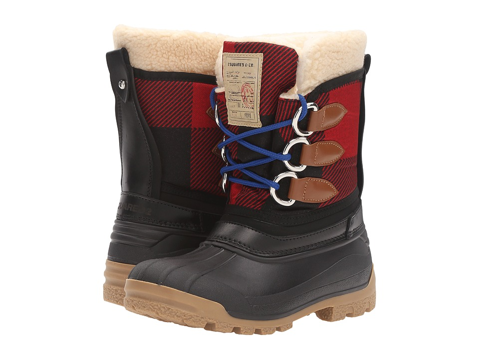 DSQUARED2 - Winter Boot (Black/Red) Women