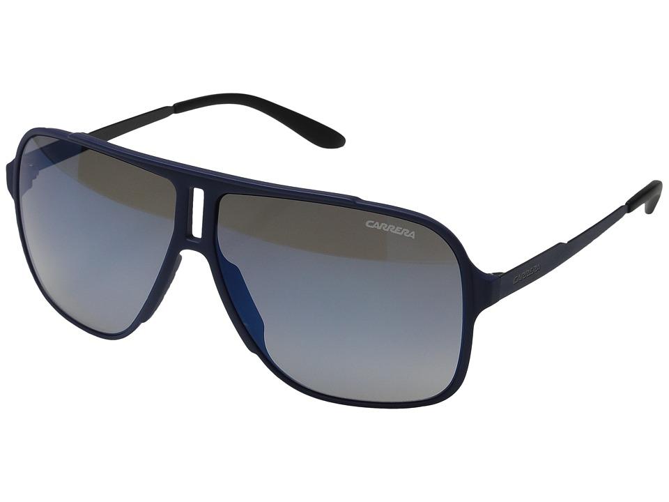 Carrera Carrera 122/S Blue/Blue Mirror Lens Fashion Sunglasses