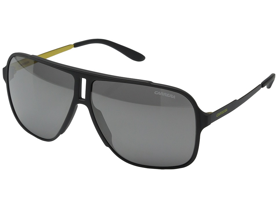 Carrera - Carrera 122/S (Grey/Black Mirror Lens) Fashion Sunglasses