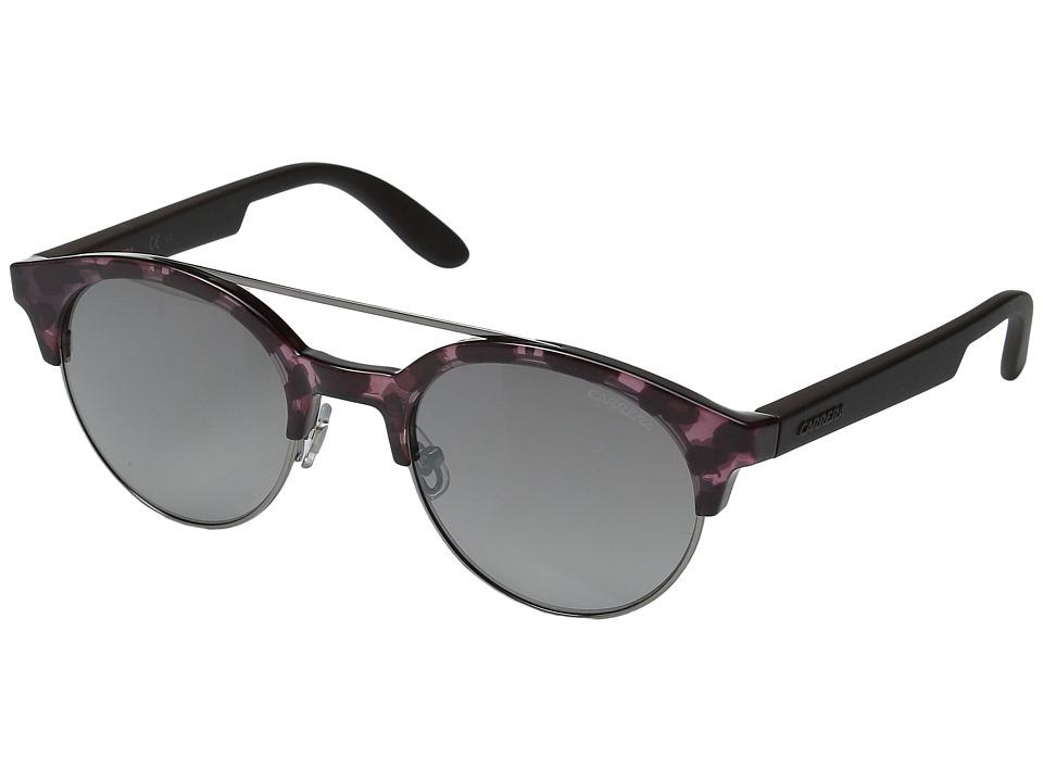 Carrera - Carrera 5035/S (Havana Cherry Brown/Gray Mirror Lens) Fashion Sunglasses