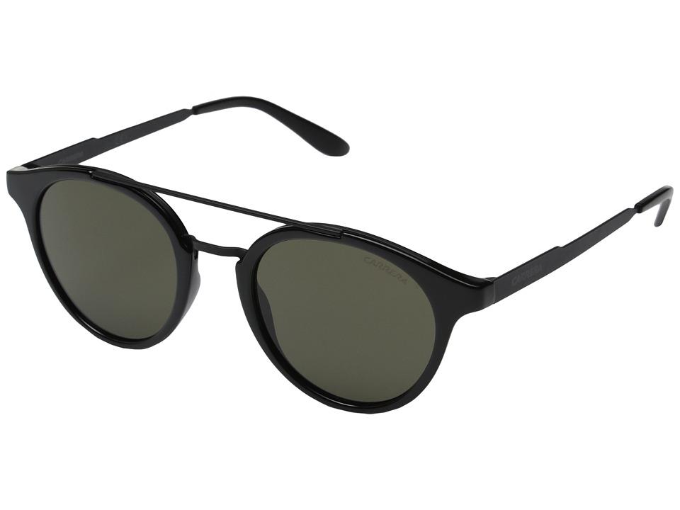 Carrera - Carrera 123/S (Black/Brown Lens) Fashion Sunglasses