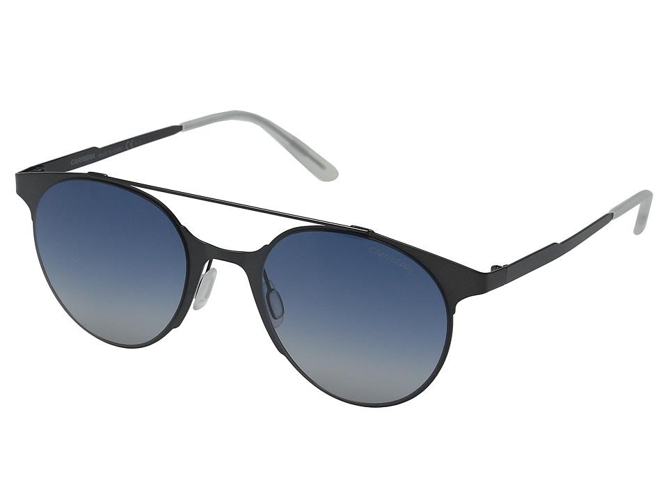 Carrera Carrera 115/S Matte Gray/Blue Lens Fashion Sunglasses
