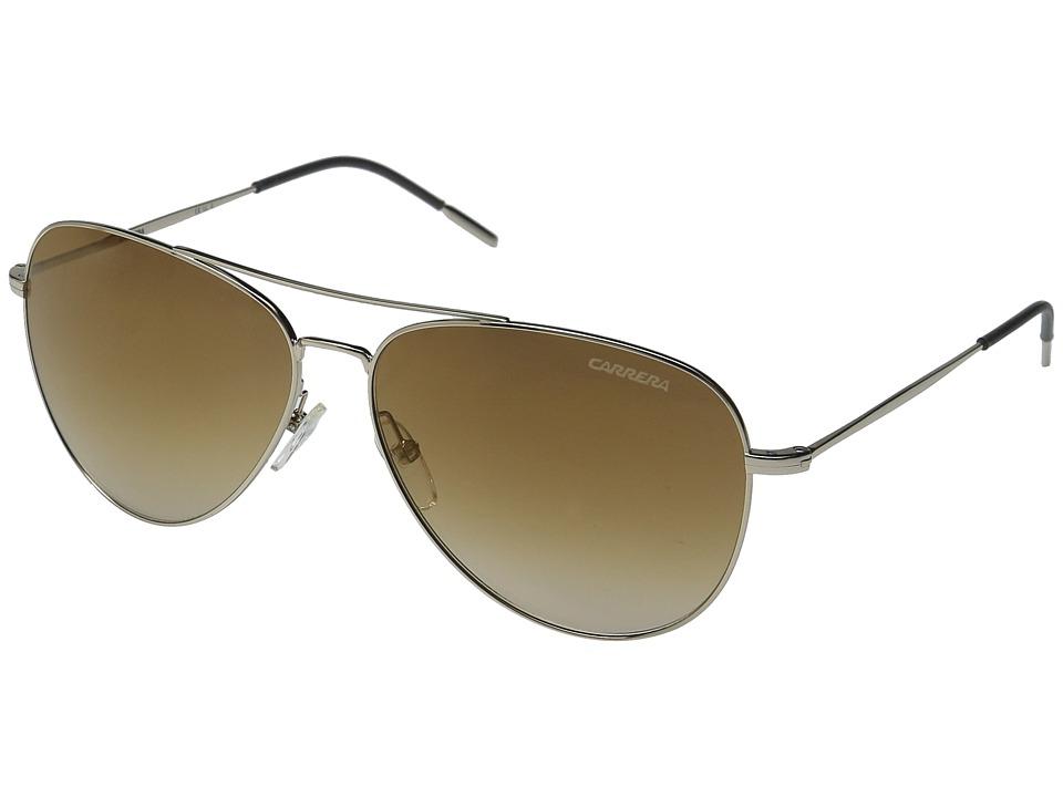 Carrera - Carrera 106/S (Light Gold/Brown Gold Mirror Lens) Fashion Sunglasses