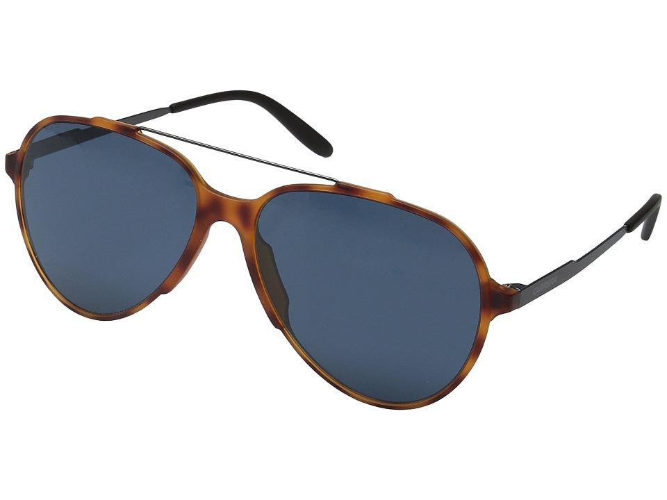 Carrera Carrera 118/S Light Havana/Blue Lens Fashion Sunglasses