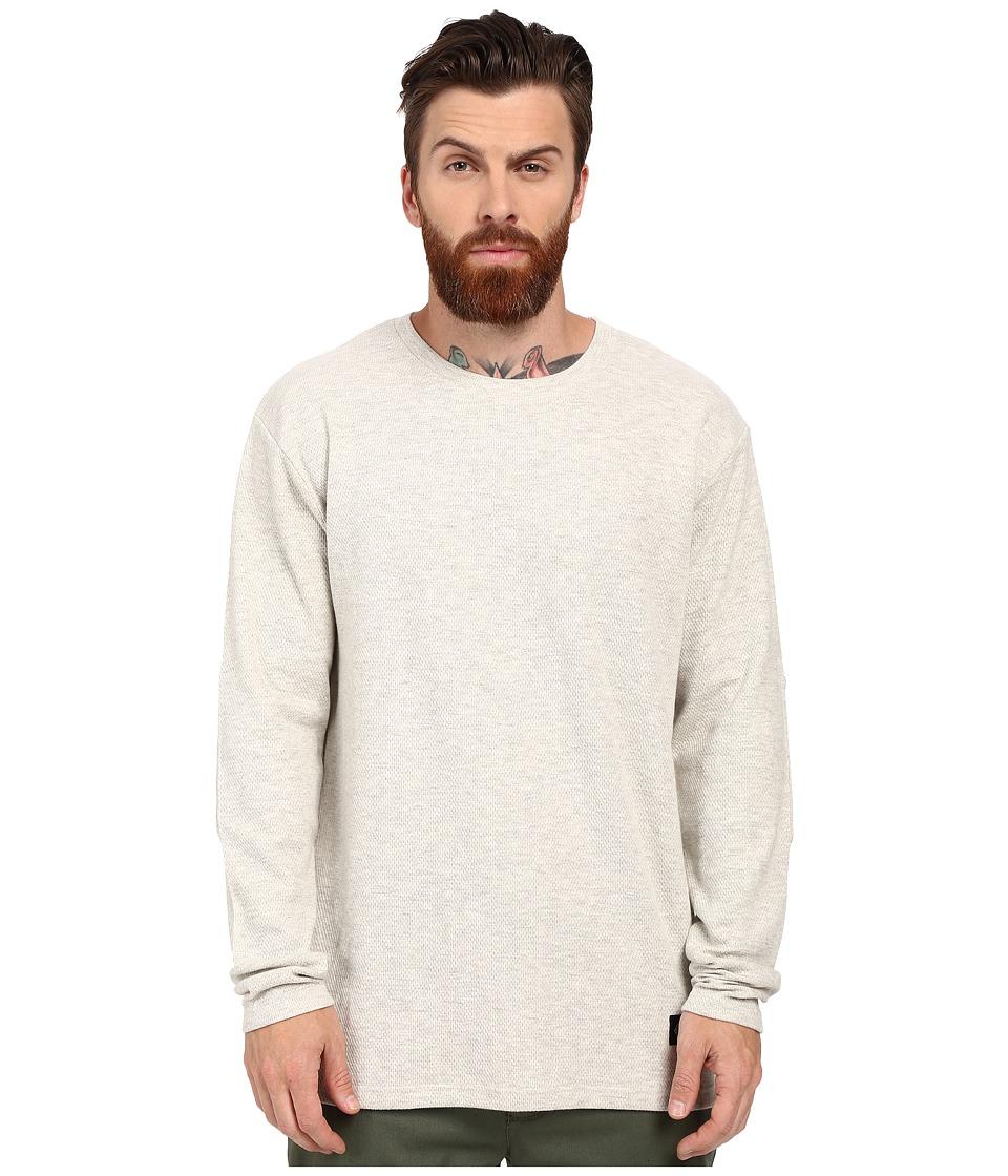 Akomplice Birch Long Sleeve Tee Grey Mens T Shirt