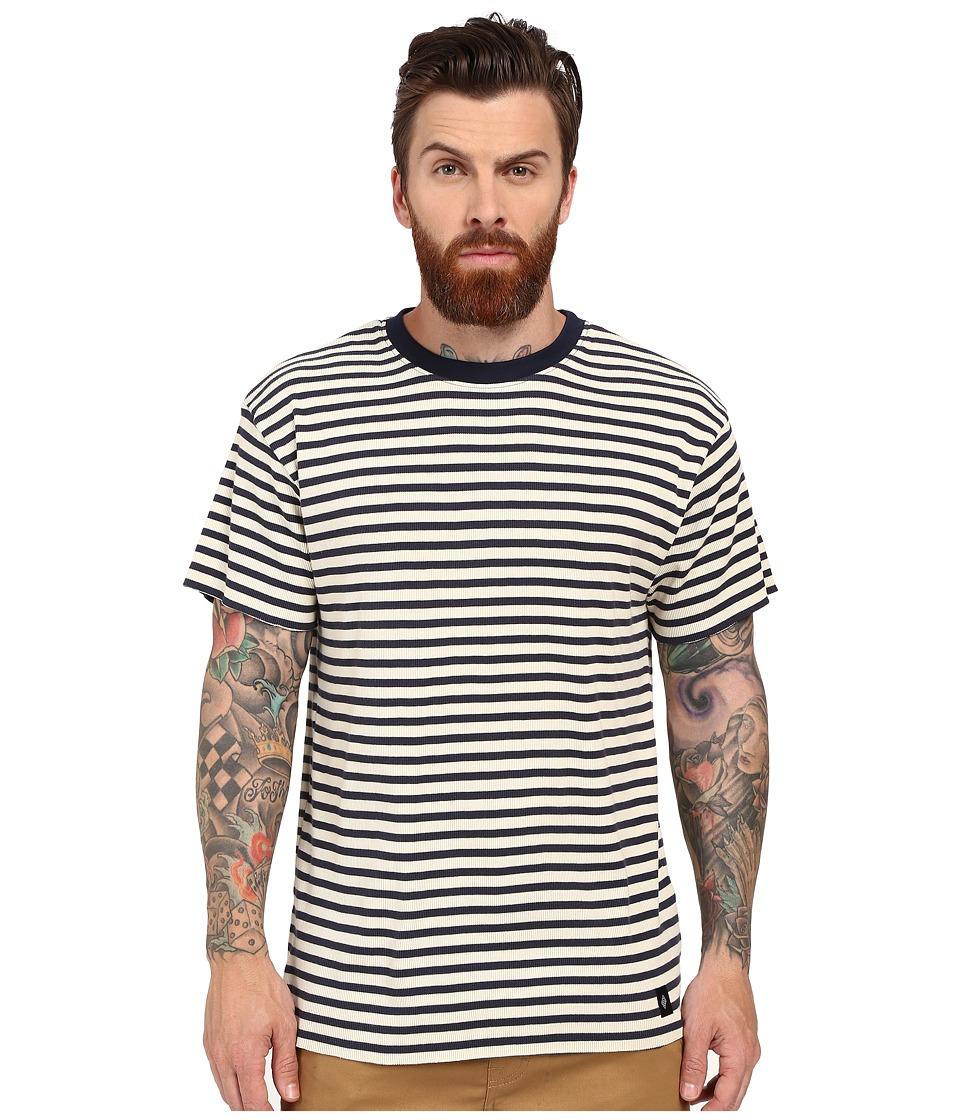 Akomplice Manchaster Cream/Navy Mens Clothing