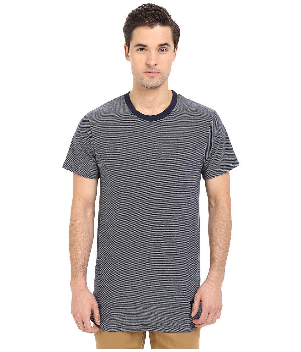 Akomplice Today Navy Mens Short Sleeve Pullover
