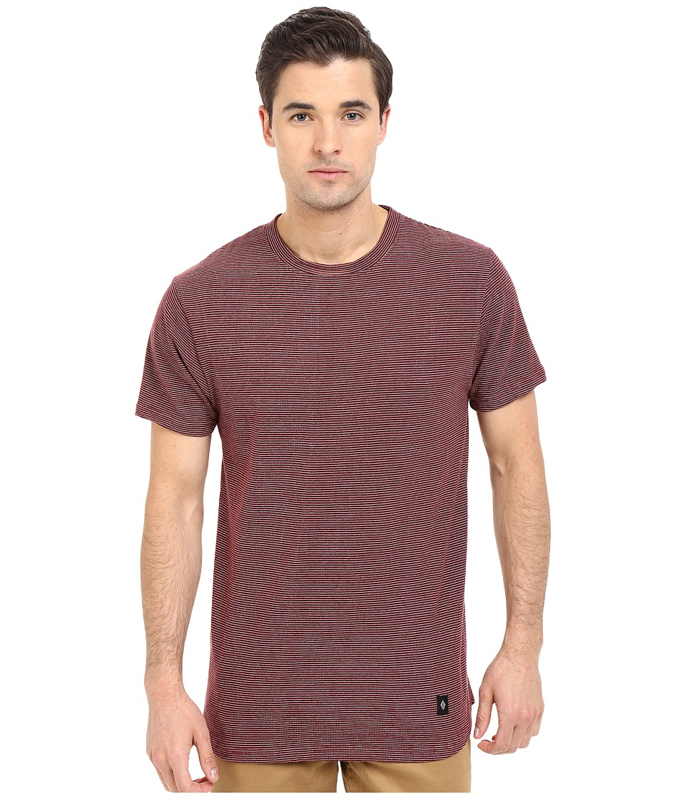 Akomplice Today Red Mens Short Sleeve Pullover