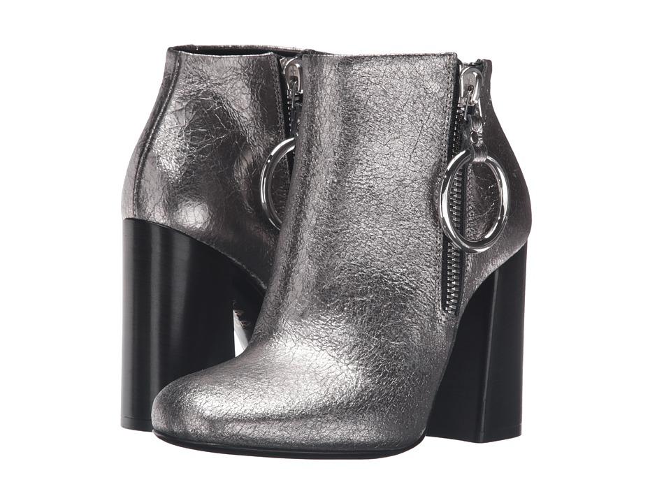 McQ Pembury Harness Boot (Light Gunmetal) Women