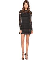 McQ - Lace Skater Dress