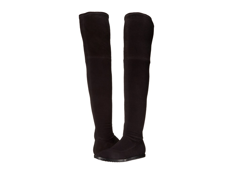 Pedro Garcia - Yule (Black Stretch Suede) Women
