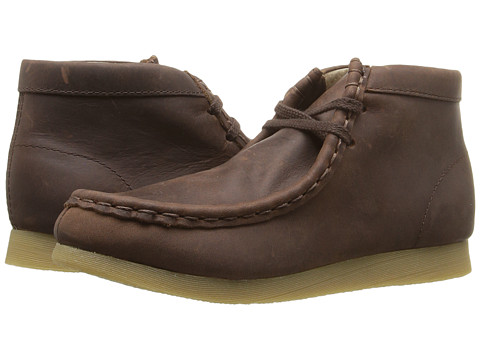 FootMates Wally (Toddler/Little Kid) - Brown Oiled