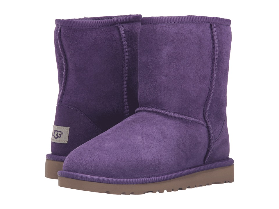 UGG Kids Classic (Little Kid/Big Kid) (Electric Purple) Girls Shoes
