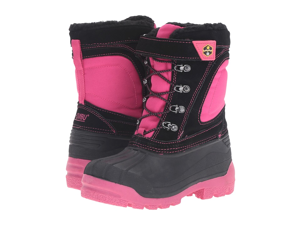 Khombu Kids Snowblaster (Little Kid/Big Kid) (Fuchsia/Black) Girls Shoes