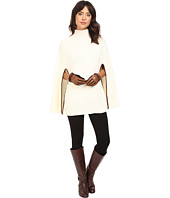 LAUREN Ralph Lauren - Turtleneck Honeycomb Capelet