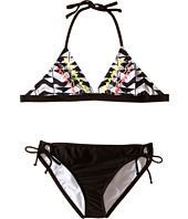 Ella Moss Girl - Zaire Triangle Bra Top with Tunnel Pant Bottom (Big Kids)