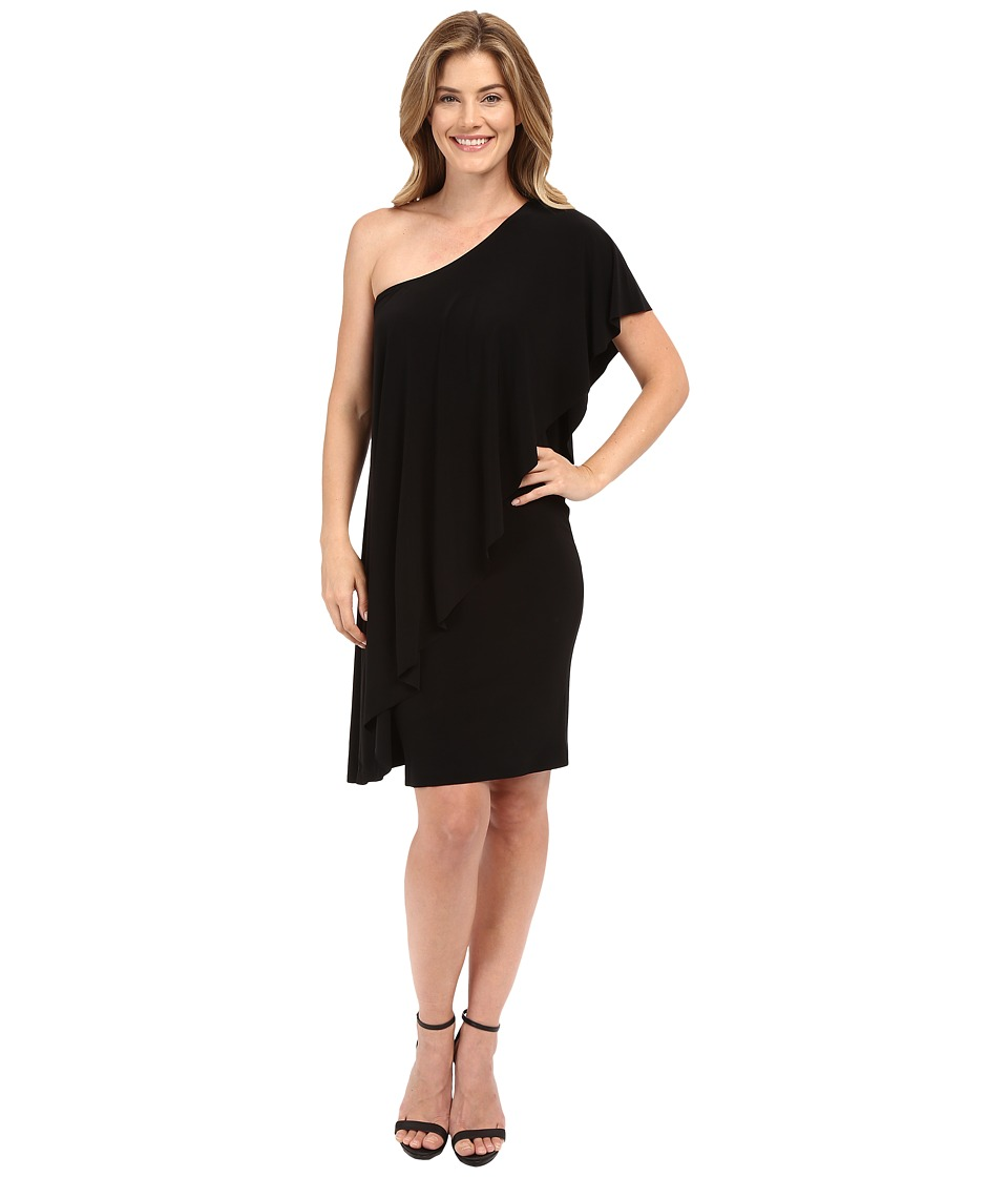 KAMALIKULTURE by Norma Kamali Circle Dress Black Womens Dress