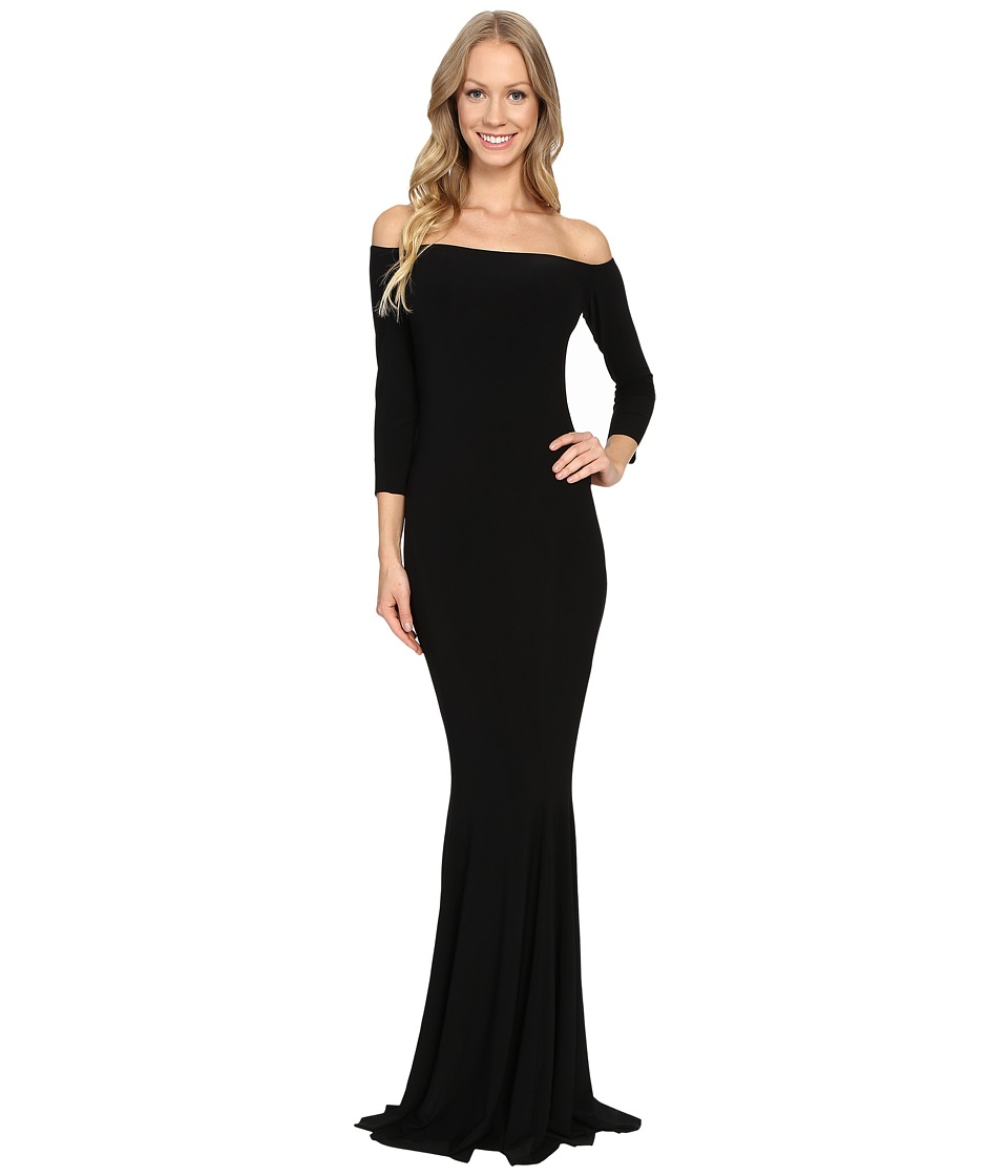 KAMALIKULTURE by Norma Kamali - Off The Shoulder Fishtail Gown