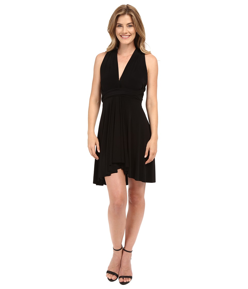 KAMALIKULTURE by Norma Kamali Convertible Mini Dress Black Womens Dress