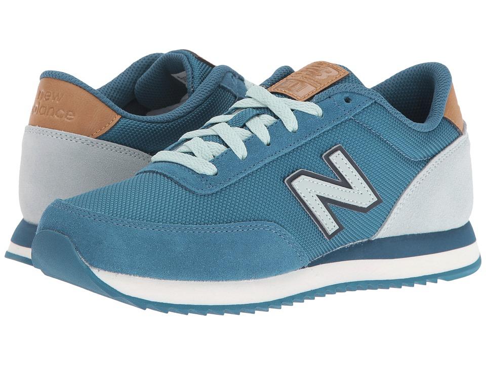New Balance Classics - WZ501 (Blue/Mint Cream Suede/Textile) Womens Shoes