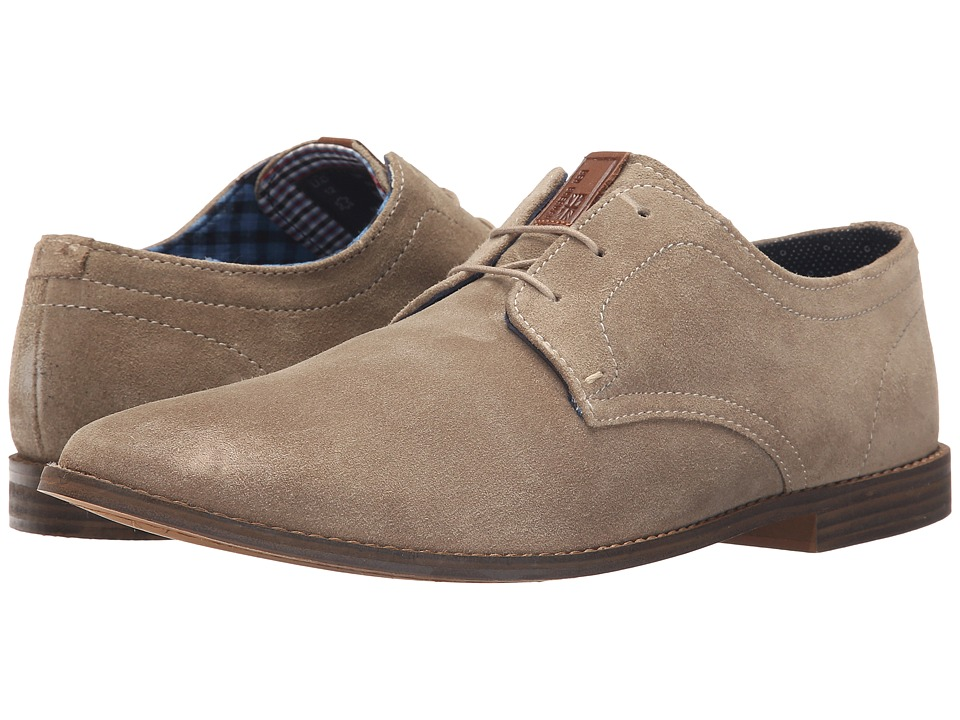 Ben Sherman Gabe Oxford Taupe Mens Lace up casual Shoes