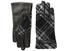 LAUREN Ralph Lauren Brushed Tartan Logo Touch Gloves