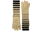 LAUREN Ralph Lauren Boiled Wool Striped Gloves