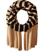 LAUREN Ralph Lauren - Boiled Wool Stripe Blanket Scarf