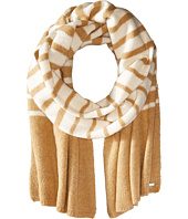 LAUREN Ralph Lauren - Boiled Wool Stripe Blanket Scarf