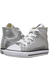 Converse Kids - Chuck Taylor® All Star® Metallic Canvas Hi (Infant/Toddler)