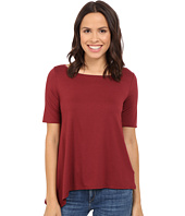 Three Dots - Debra Asymmetrical Boat Neck