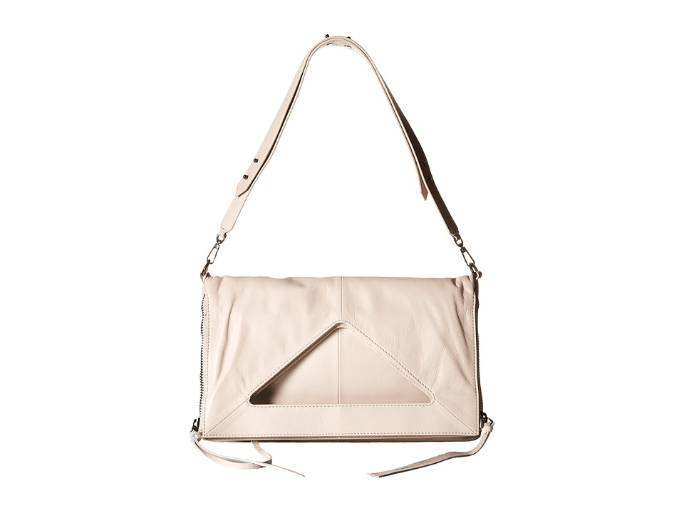 Botkier - Bristol Fold-Over (Dove) Cross Body Handbags