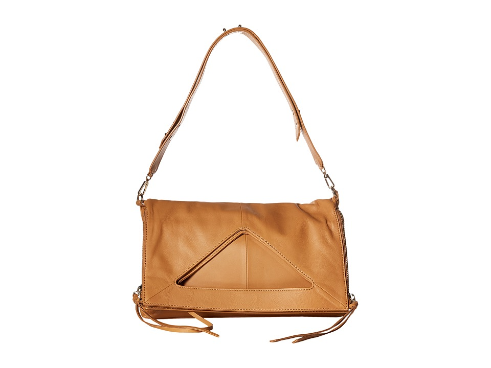 Botkier - Bristol Fold-Over (Camel) Cross Body Handbags