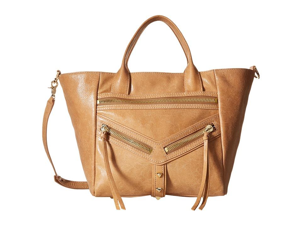 Botkier - Trigger Convertible Satchel (Camel) Satchel Handbags