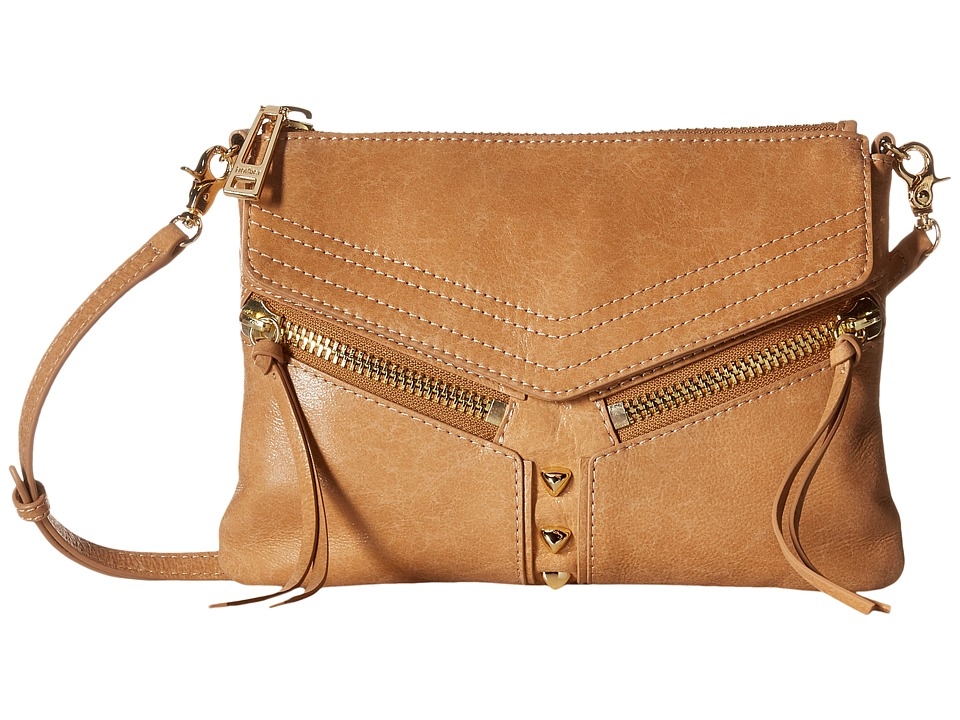 Botkier - Trigger Crossbody (Camel) Cross Body Handbags