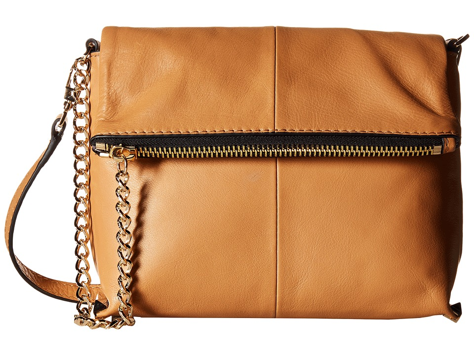 Botkier - Irving Crossbody (Camel) Cross Body Handbags
