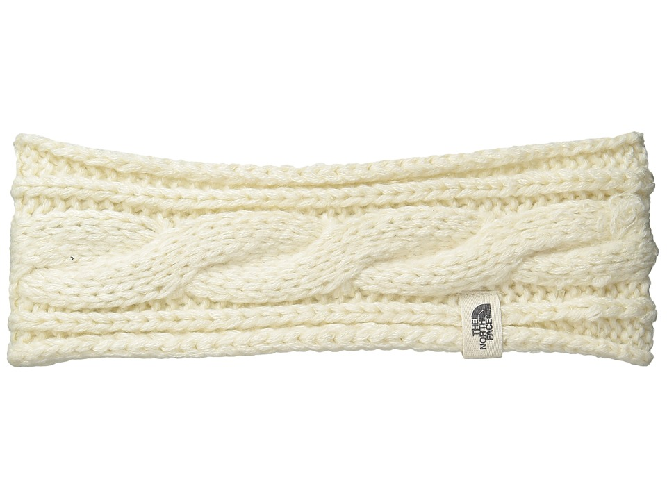 North Face Cable Eargear (Vintage White) Headband