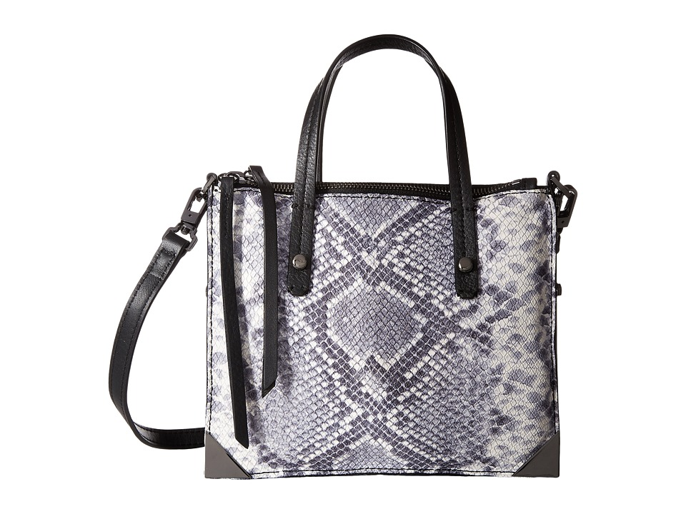 Botkier - Jane Mini Tote (Black Snake) Tote Handbags