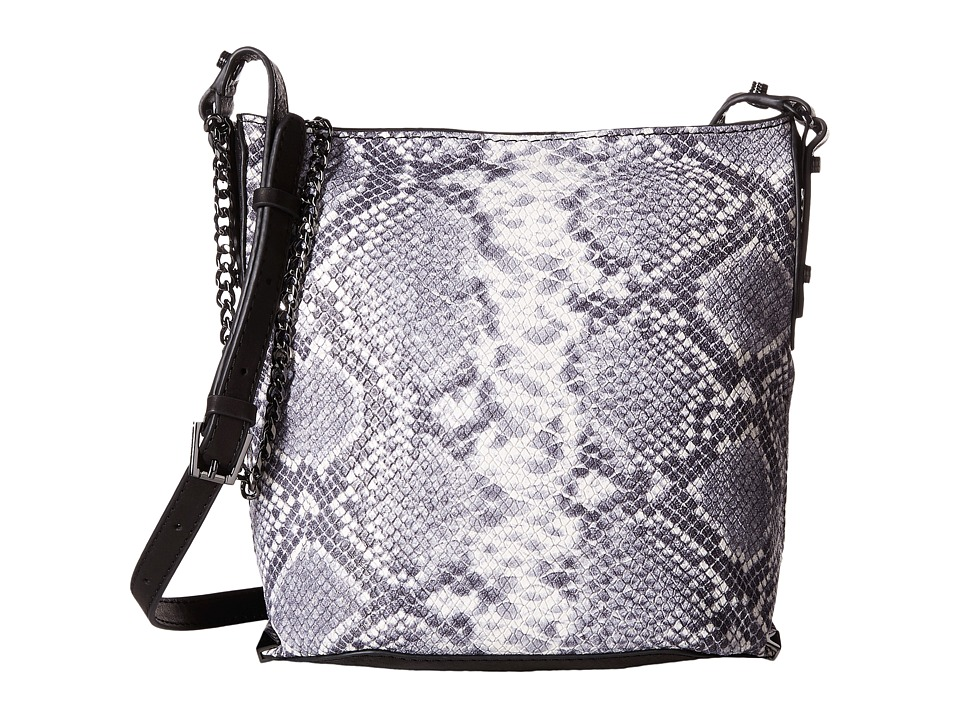 Botkier - Irving Mini Bucket (Black Snake) Handbags