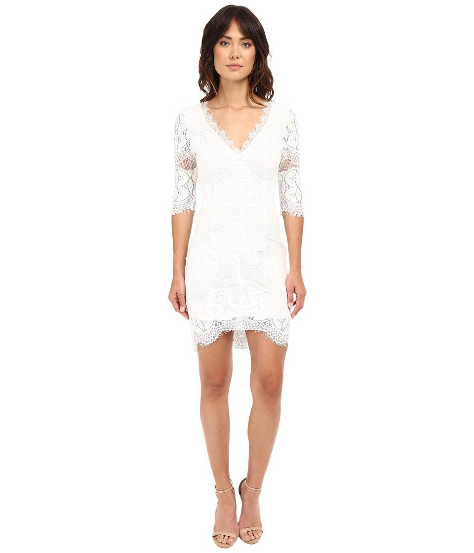Brigitte Bailey Kali Lace Sheath Dress White Womens Dress